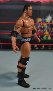 WWE Elite Farooq and The Rock Nation of Domination figure review set - The Rock right side