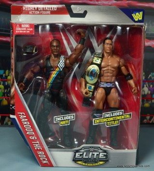 WWE Elite Farooq and The Rock Nation of Domination figure review set - package front