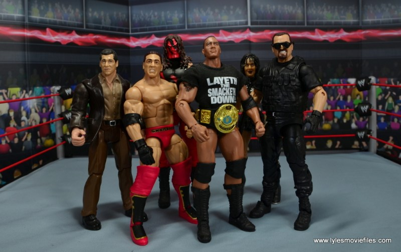 WWE Elite Ken Shamrock figure review - The Corporation Mr. McMahon, The Rock, Chyna, Kane and Big Boss Man