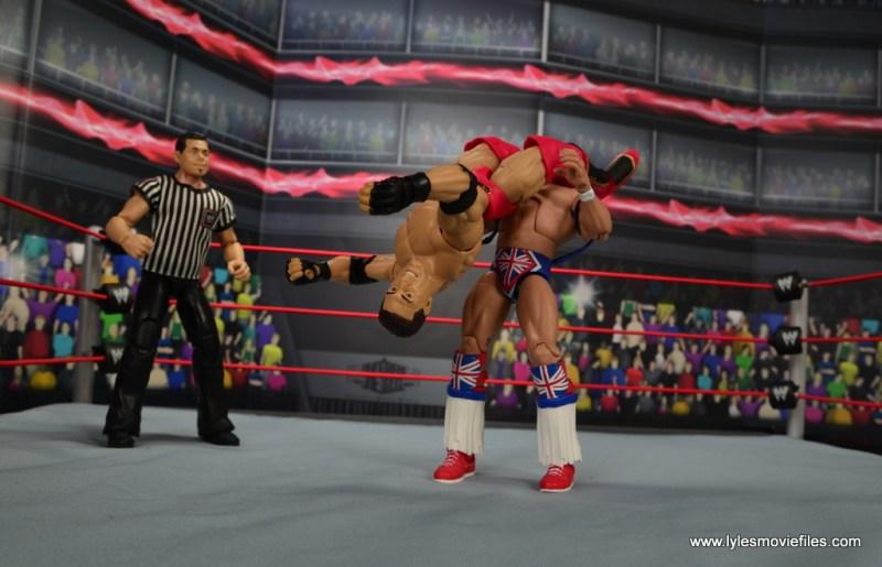 WWE Elite Ken Shamrock figure review - huricarana to British Bulldog
