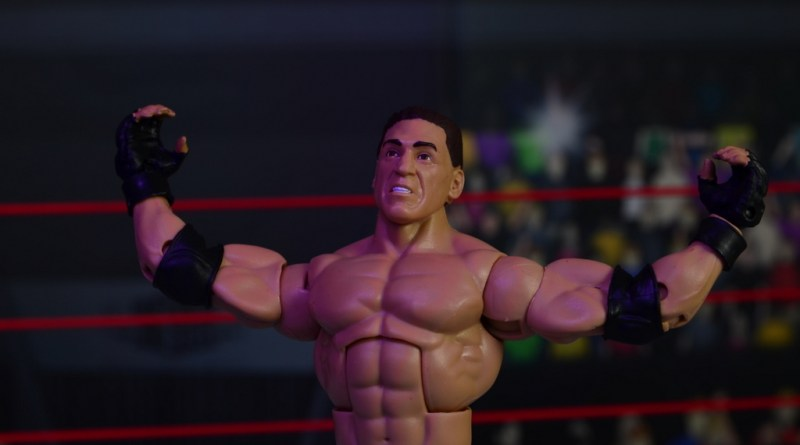 WWE Elite Ken Shamrock figure review -main pic