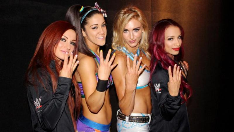 WWE Four Horsewomen NXT