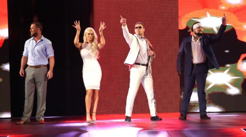 WWE The Miztourage - Miz and Maryse