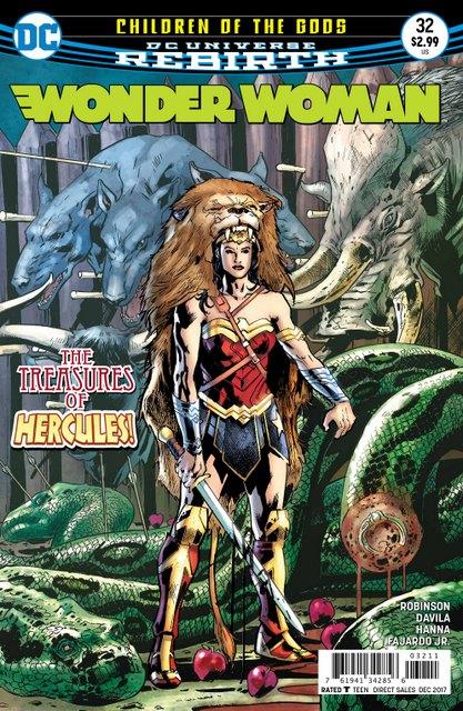 Wonder Woman #32 cover