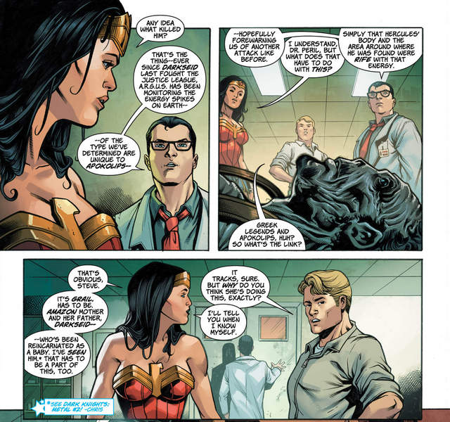 Wonder Woman #32 interior art