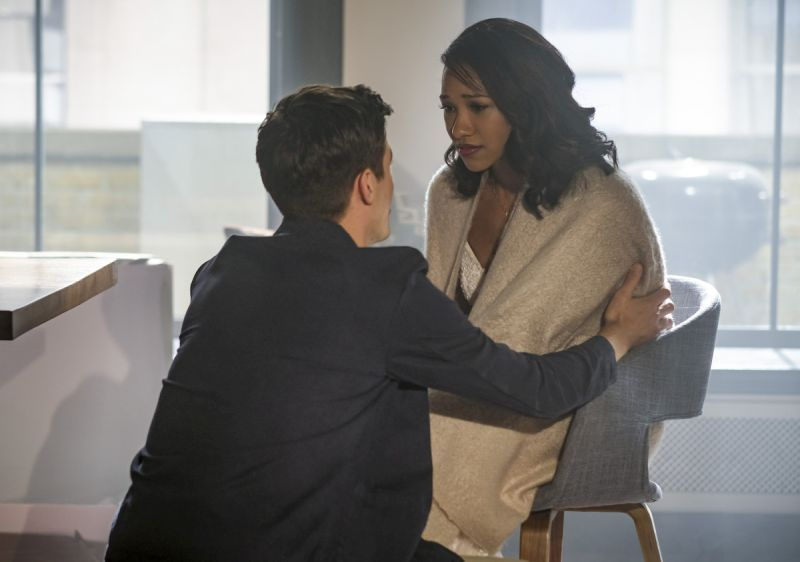 the-flash-luck-be-a-lady-review barry and iris