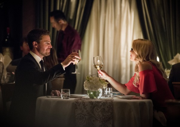 Arrow Reversal review - Oliver and felicity