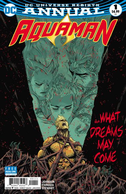 Aquaman Annual #1 cover