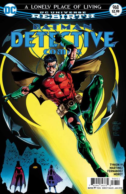 Detective Comics #968 cover