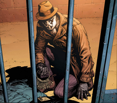 Doomsday Clock #1 interior art