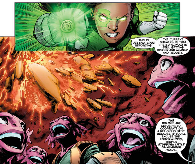 Green Lanterns #34 interior art