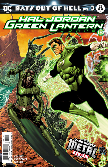 Hal Jordan and the Green Lantern Corps #32 cover