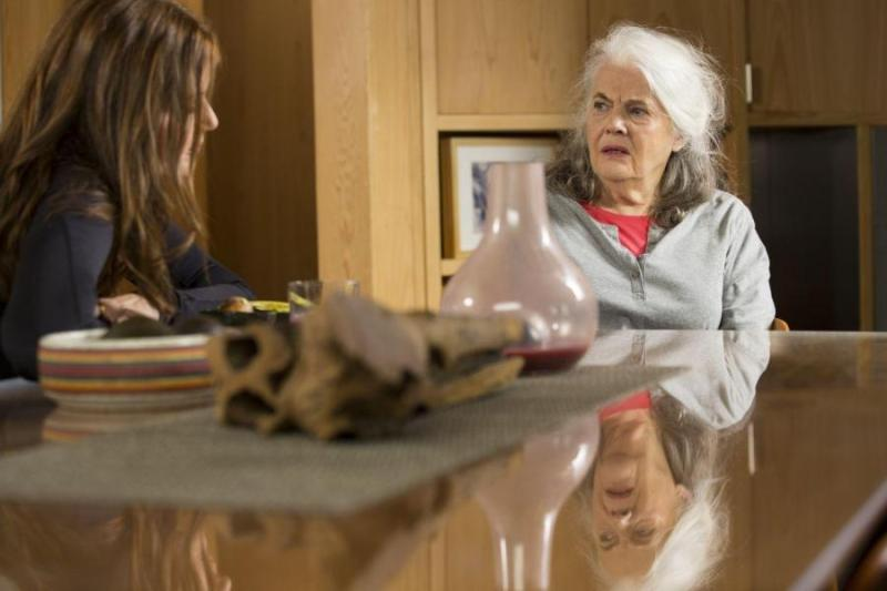 Marjorie Prime review - Geena Davis and Lois Smith