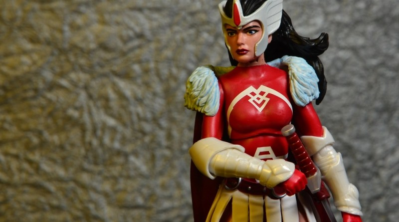 Marvel Legends A-Force Lady Sif figure review -main pic