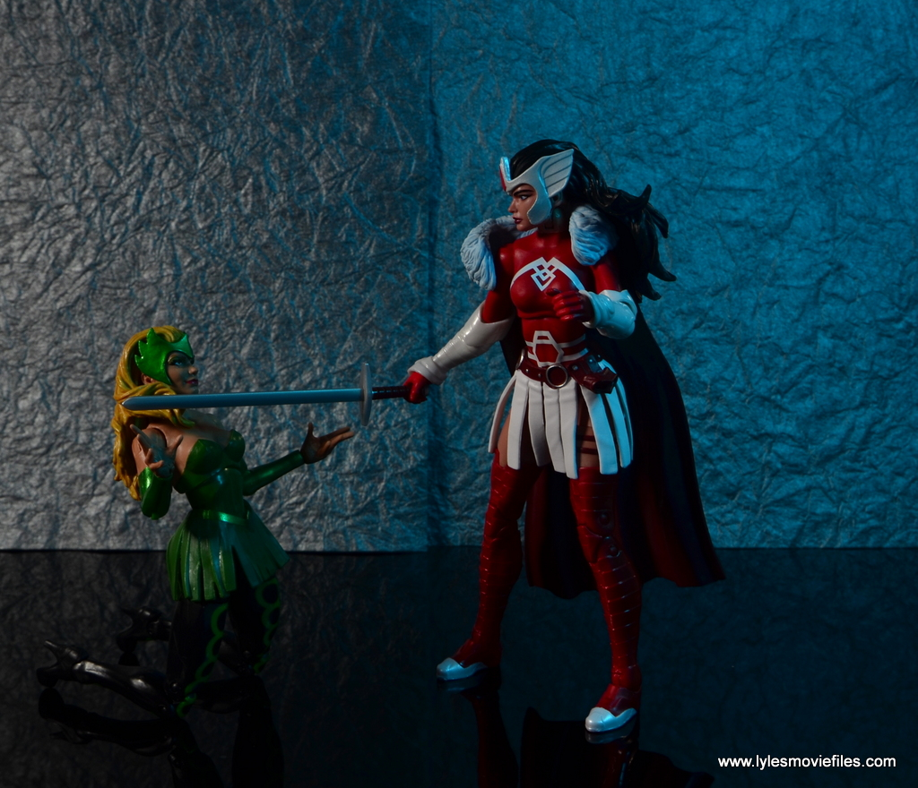 Marvel Legends A-Force Lady Sif figure review -vs ...