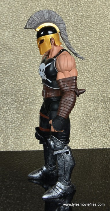 Marvel Legends Ares figure review -left side