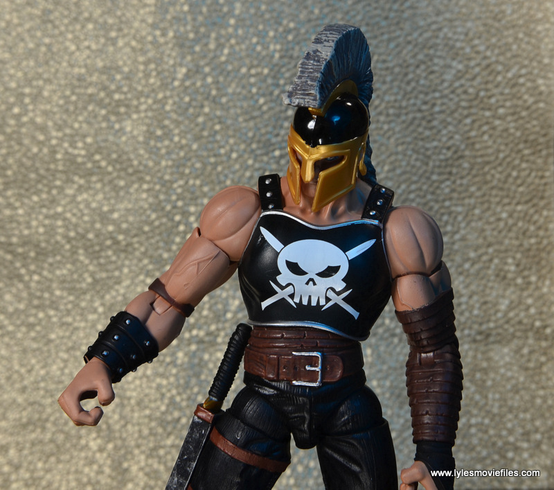 Marvel Legends Ares figure review -torso detail