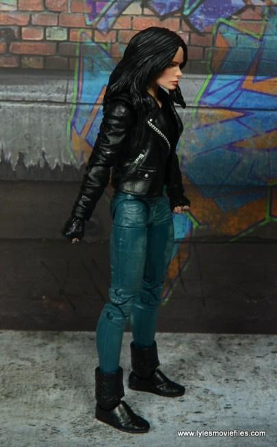 Marvel Legends Jessica Jones figure review - right side
