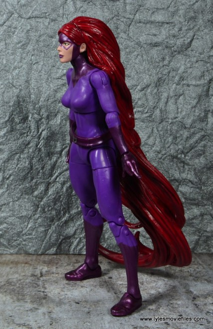 Marvel Legends Medusa figure review -left side