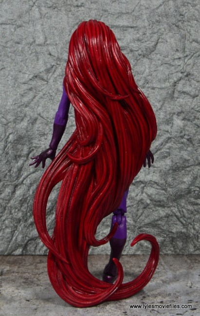 Marvel Legends Medusa figure review -rear