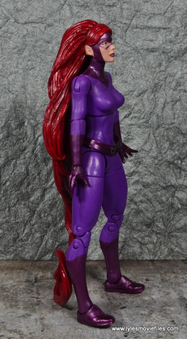 Marvel Legends Medusa figure review -right side