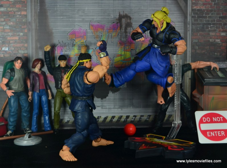 Storm Collectibles Street Fighter V Ryu figure review - counter punch to Ken