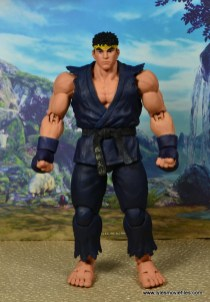 Storm Collectibles Street Fighter V Ryu figure review - front