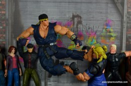 Storm Collectibles Street Fighter V Ryu figure review - high kick to Ken