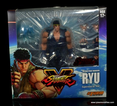 Storm Collectibles Street Fighter V Ryu figure review - package front
