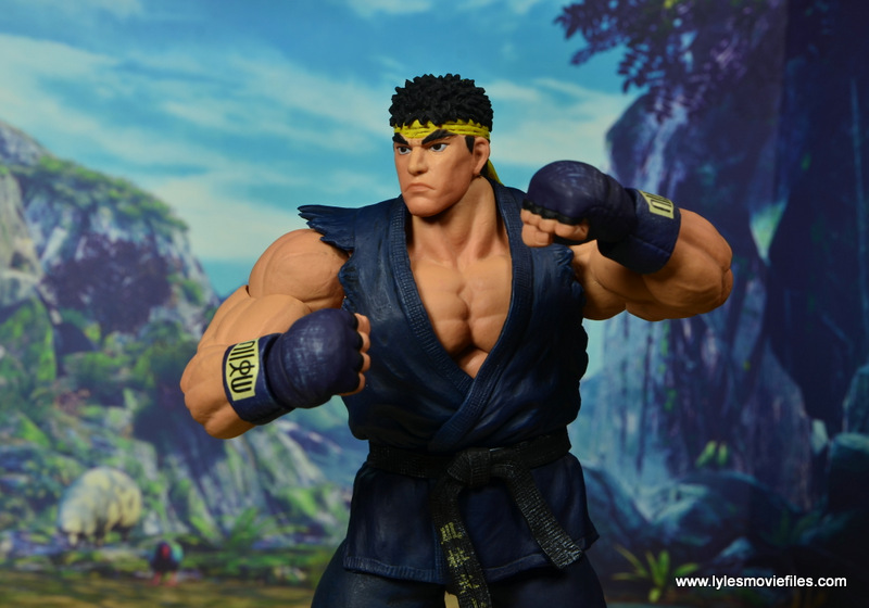Storm Collectibles Street Fighter V Ryu figure review - wide battle stance