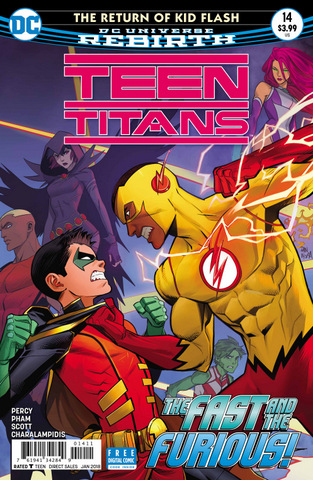 Teen Titans #14 cover