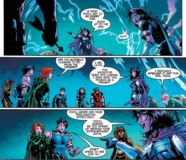 Teen Titans #17 interior art