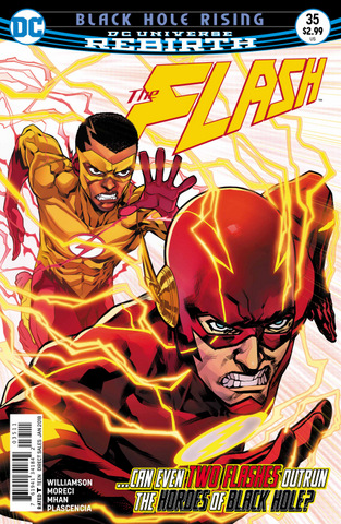 The Flash #35 cover
