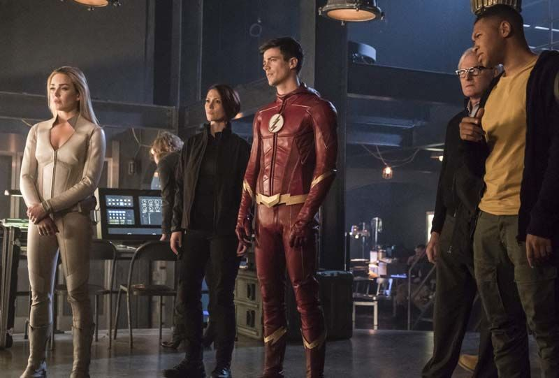 The Flash Crisis on Earth-X Part 3 review -Sara, Barry, Alex, Stein and Jax