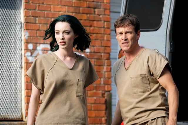 The Gifted eXit strategy review - Emma Dumont and Stephen Moyer