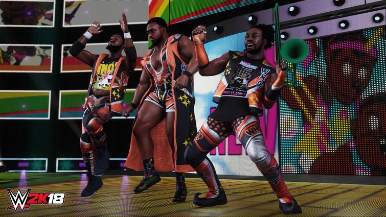 WWE 2K18 New Day