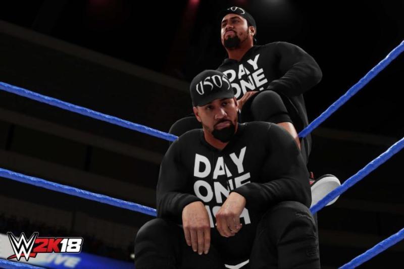 WWE 2K18 The Usos