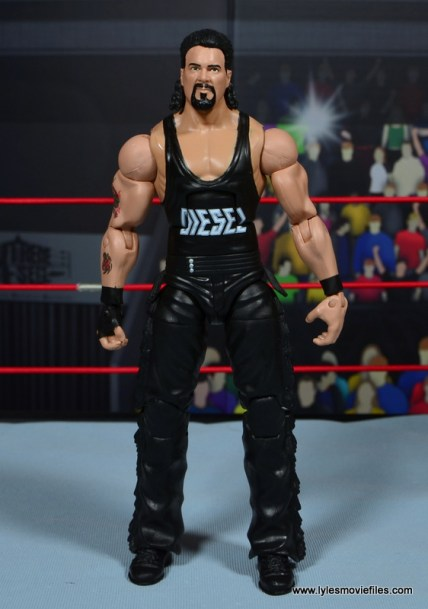 WWE Elite Hall of Fame Diesel figure review -front
