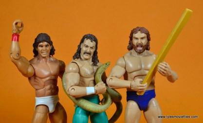 WWE Survivor Series Teams - 1988 Tito Santana, Jake the Snake Roberts and Hacksaw Jim Duggan