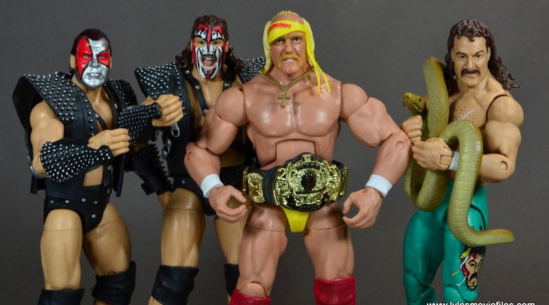 WWE Survivor Series Teams - 1989 - Demolition, Hulk Hogan and Jake the Snake