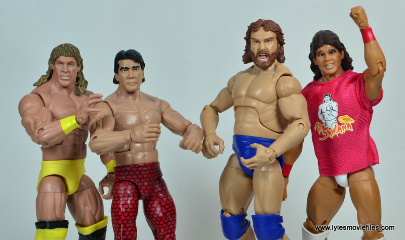 WWE Survivor Series Teams - 1991 Texas Tornado, Ricky Steamboat, Hacksaw Jim Duggan and Tito Santana