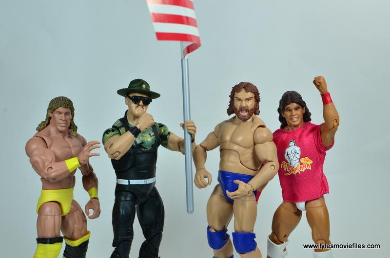 WWE Survivor Series Teams - 1991 Texas Tornado, Sgt. Slaughter, Hacksaw Jim Duggan and Tito Santana