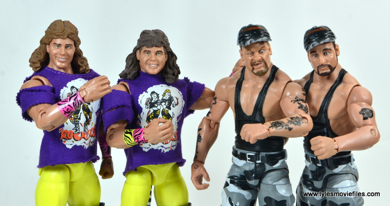 WWE Survivor Series Teams - 1991 - The Rockers and The Bushwhackers