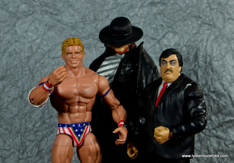 WWE Survivor Series Teams -1993 Lex Luger, The Undertaker and Paul Bearer