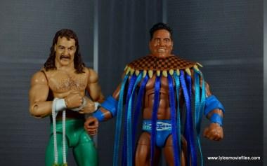 WWE Survivor Series Teams -1996 Jake the Snake and Rocky Maivia