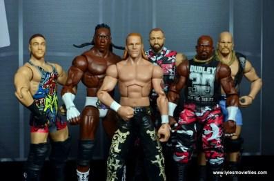WWE Survivor Series Teams -2003 Team Austin RVD, Booker T, Shawn Michaels, The Dudley Boyz and Steve Austin