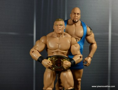 WWE Survivor Series Teams -2003 Team Lesnar Brock and The Big Show