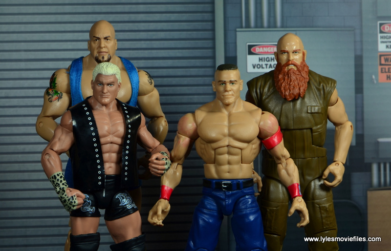 WWE Survivor Series Teams -2015 The Big Show, Dolph Ziggler, John Cena and Erik Rowan