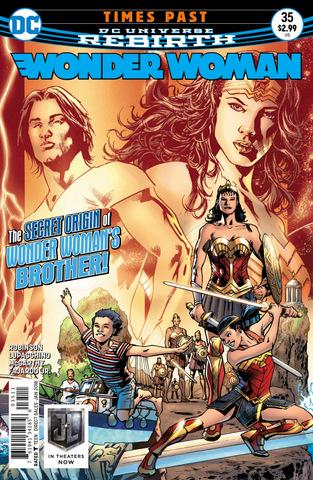 Wonder Woman #35 cover