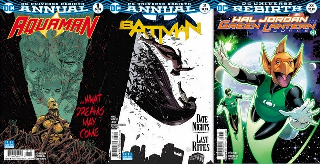 DC Comics reviews 11/29/17